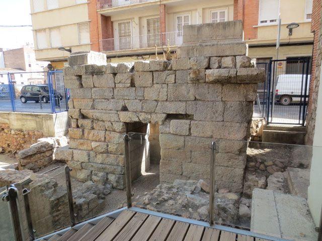 Puerta del Circo Romano de Sagunto