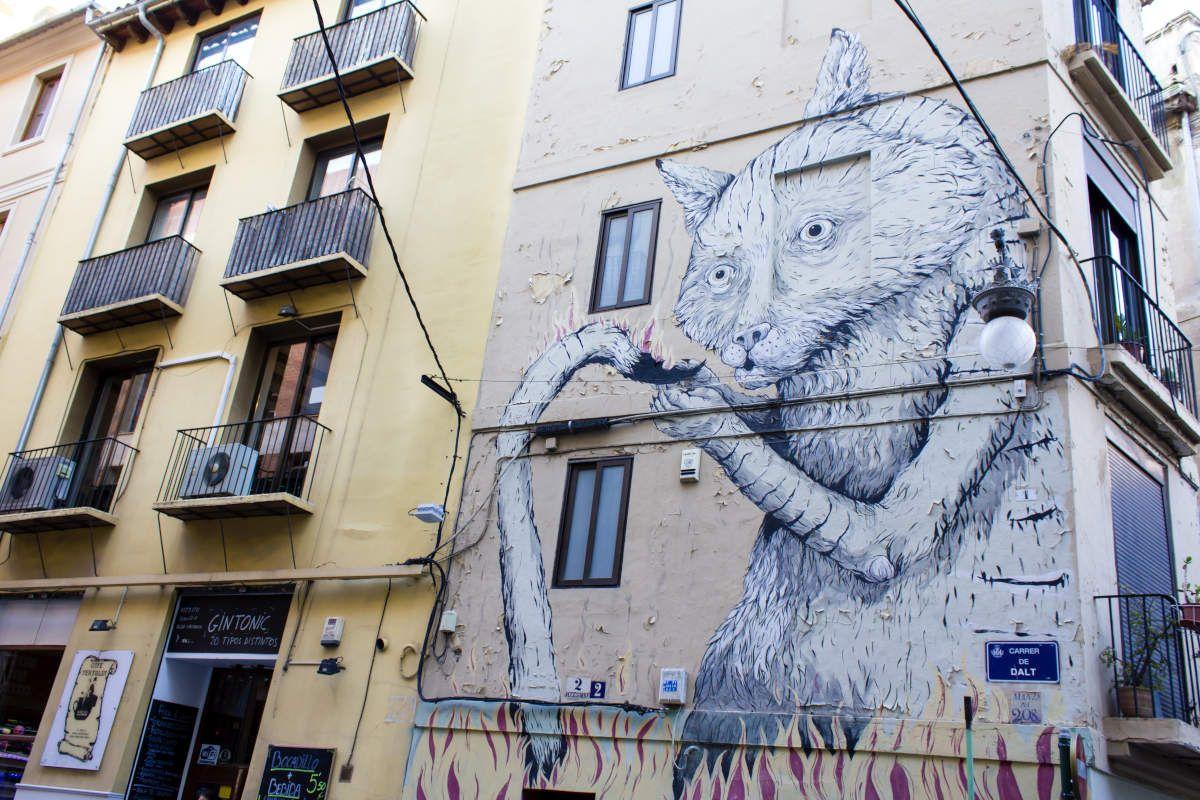 Tour de grafitis en Valencia